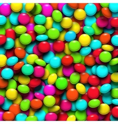 Background with candy vector