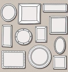 frames vector image vector image
