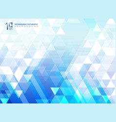 abstract technology futuristic arrow vector image