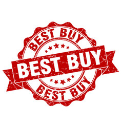 best buy stamp sign seal vector image