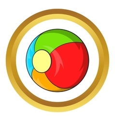 Children ball icon vector