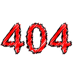 concept 404 error page or file not found vector image