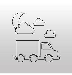 Conveyance concept design vector