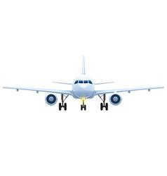 Front view landing vector