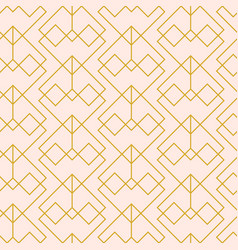 Minimal geometric seamless pattern vector