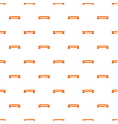octoberfest badge pattern seamless vector image
