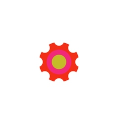 Roller bearing Icon vector image
