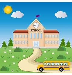 School Welcome back to school vector
