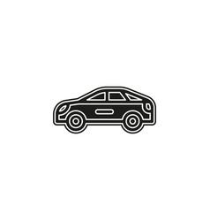 simple car icon vector image
