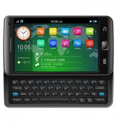 touchscreen smartphone vector image