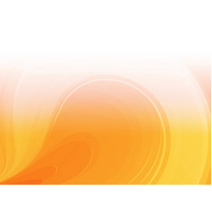 abstract white orange background vector image