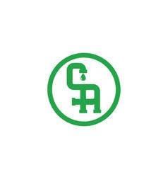 ca-logo vector image