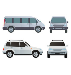 Car auto vehicle transport type design travel race vector