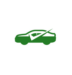 car check logo vector image
