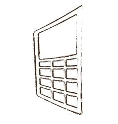 Dataphone credit payment sketch vector