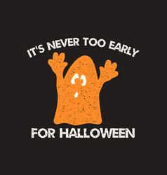 halloween graphic print for t shirt costumes and vector image