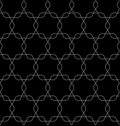 monochrome seamless pattern dark endless texture vector image