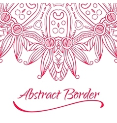 Abstract Hand-drawn Mandala-05 vector image