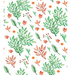 Plants Seamless Pattern vector image vector image