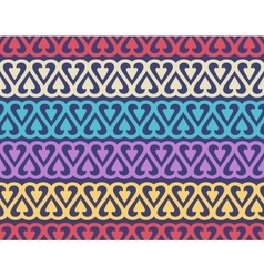 Seamless pattern with cute ornament for wallpaper vector image vector image