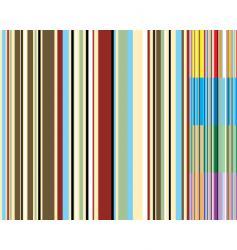 stripe variation vector image vector image