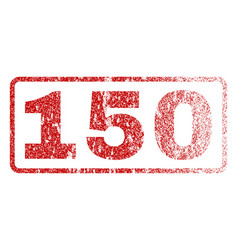 150 rubber stamp vector image