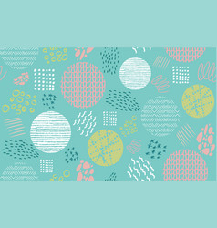 abstract pastel green seamless repeat pattern vector image
