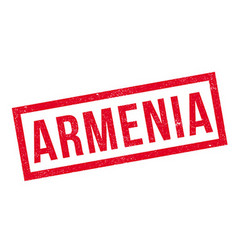 Armenia rubber stamp vector