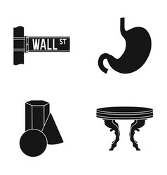 Design furniture medicine and other web icon in vector