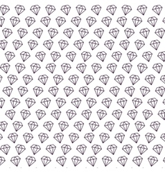 diamonds pattern isolated icon vector image
