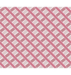 Hand drawn crossed stripes ornament background vector image