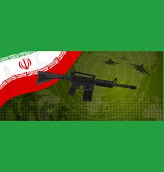 Iran modern warfare world map country army vector