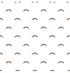 long mustache pattern seamless vector image