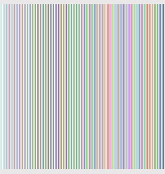 vertical rainbow lines vector image