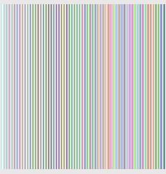 vertical rainbow lines vector image