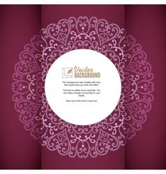 Vintage background greeting card invitation vector