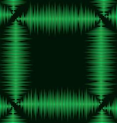 Waveform frame vector image