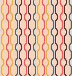 Seamless Vintage Colors Pattern vector image