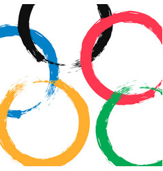 2020 japan summer sports vector image