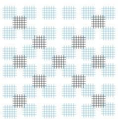 background blue white black strokes squares vector image