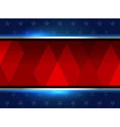 backgrounds usa style vector image