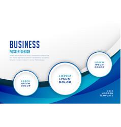 Concept business background flyer brochure design vector