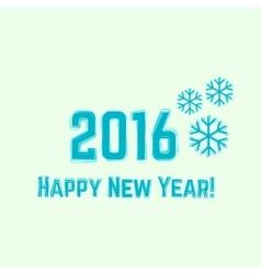 Creative happy new year 2016 vector
