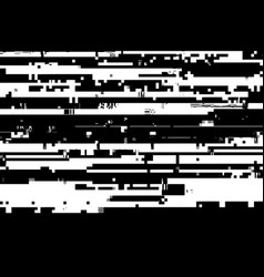 glitched overlay texture vector image