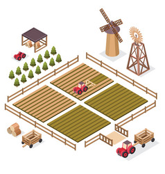 Isometric of a harvest vector