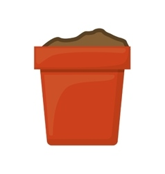 plant pot icon vector image