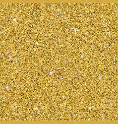 seamless yellow gold glitter texture shimmer vector image vector image