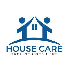 House care logo vector