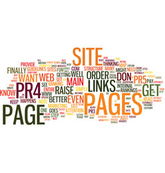 The buzz about links what about yours text vector