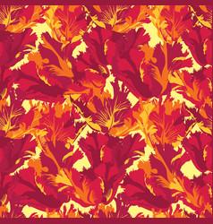 Abstract flower petal seamless pattern textured vector